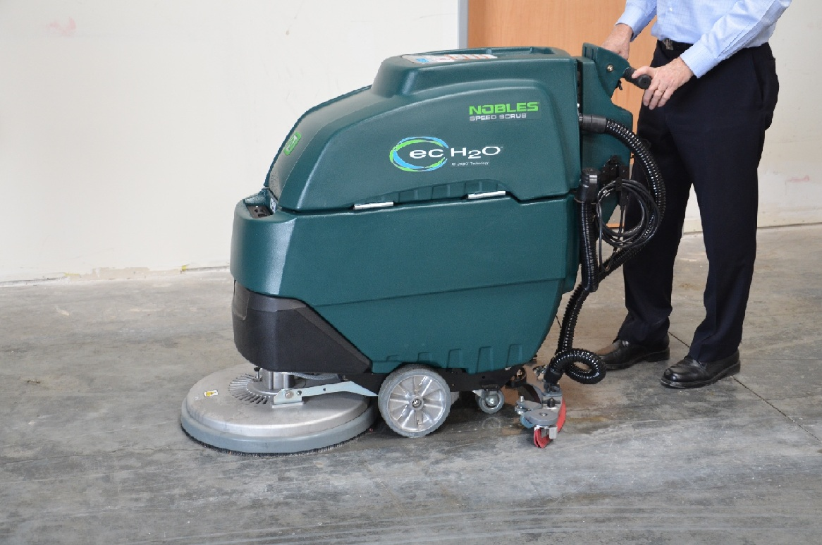 4. Nobles Speed Scrub 17 20 Walk Behind Floor Scrubber U201cSS3u2033 U2013 Now Replaced  By Nobles SS300!