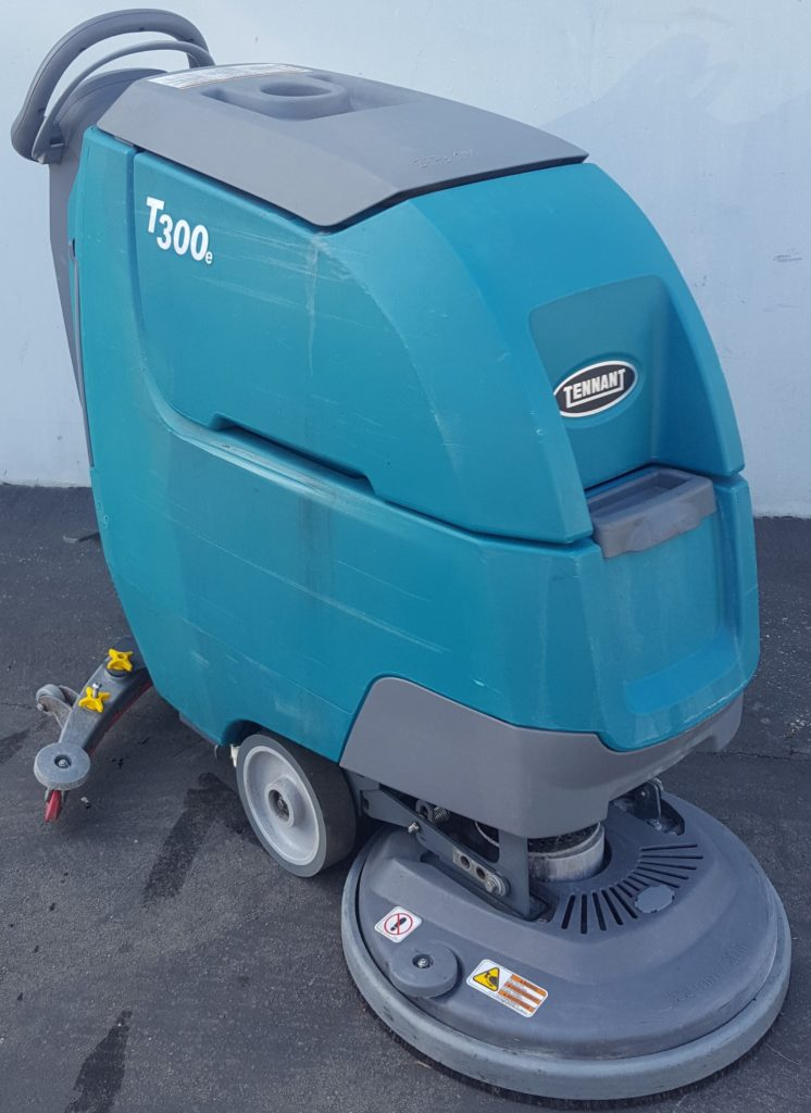 Used Tennant T300, T300e, S300, T3, S3, Speed Scrub, floor scrubber drier, walk behind floor scrubber,