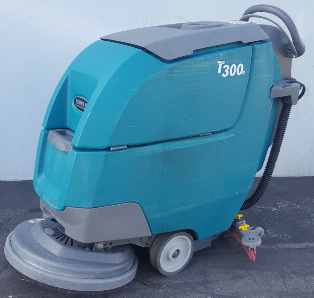 Tennant T300e, T300, S300, S3, Speed Scrub, floor scrubber drier, walk behind floor scrubber,