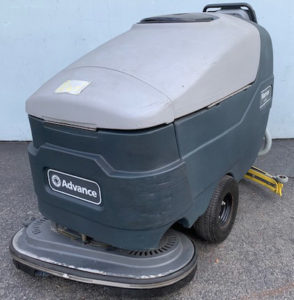 Used Tennant 5680, reconditioned 5680, floor scrubber drier, walk behind floor scrubber,